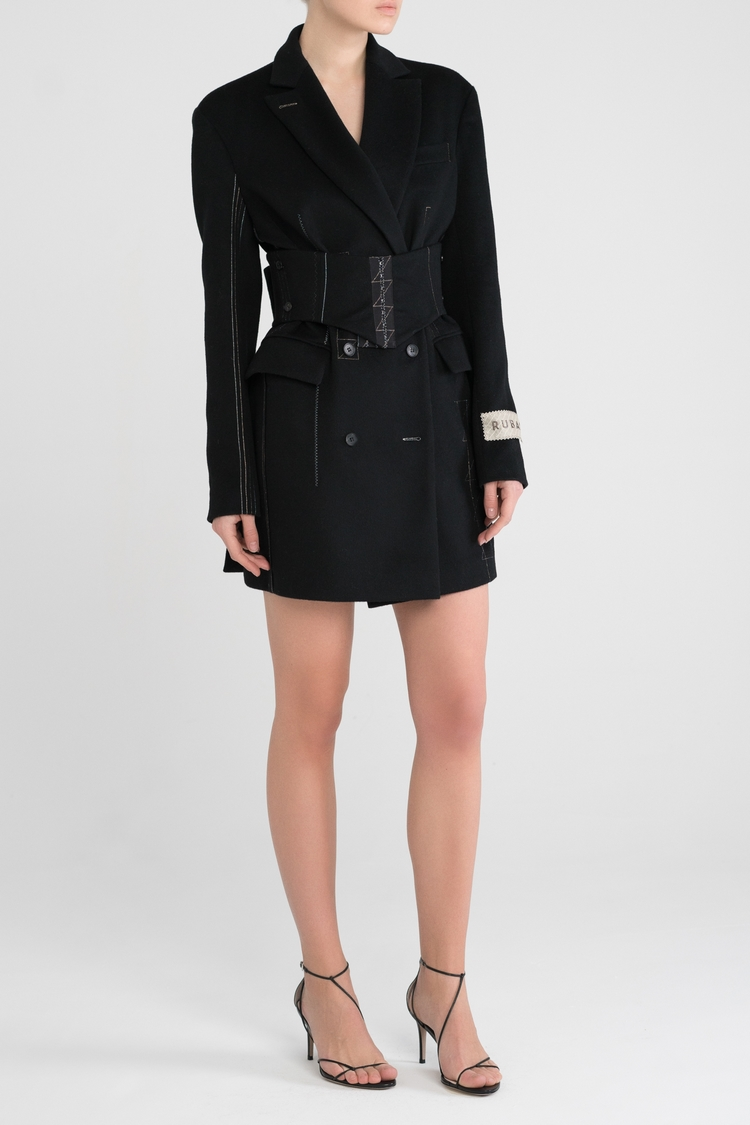 Jacket - dress with corset